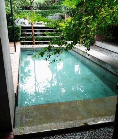 Sekeping Tenggiri : view  the pool