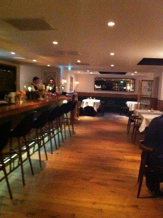 Pollen Street Social : L'interno entrando nel ristorante