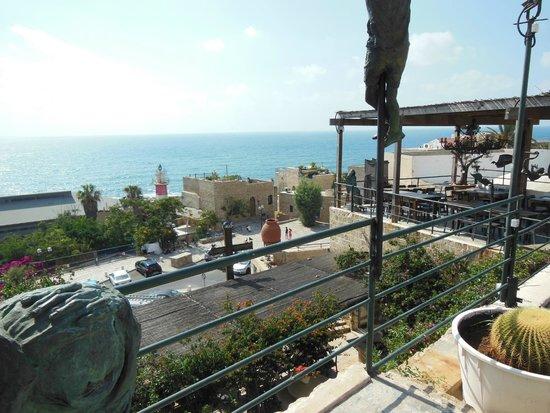 Ilana Goor Museum : вид на море с балкона музея