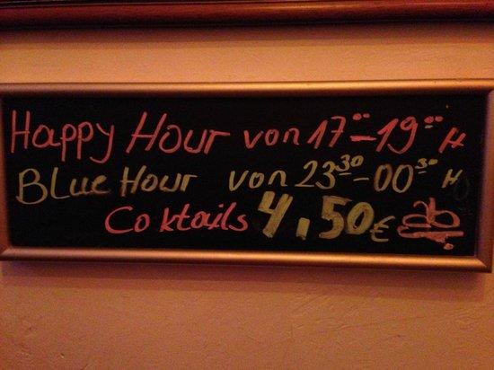 Latino Cubana: Happy Hour Times !!