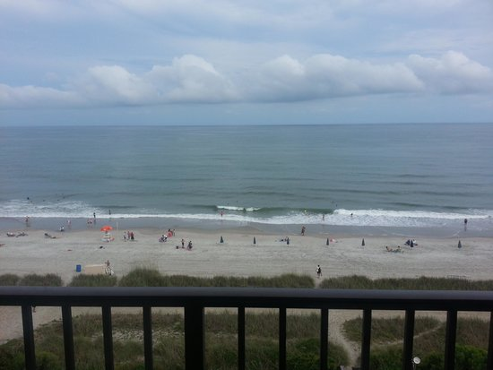 Ocean Park Resort, Oceana Resorts: our view from our hotel