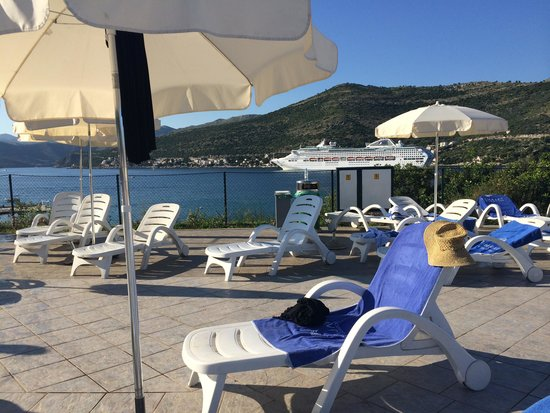 Valamar Club Dubrovnik : A view from the pool