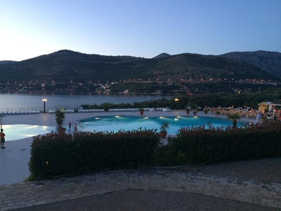 Valamar Club Dubrovnik : Aview from the stairs