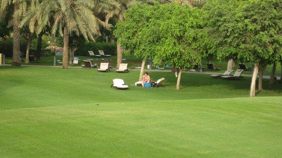 Emirates Palace: Liegewiesen