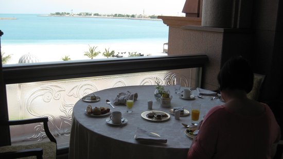 Emirates Palace: Frühstücksparadies