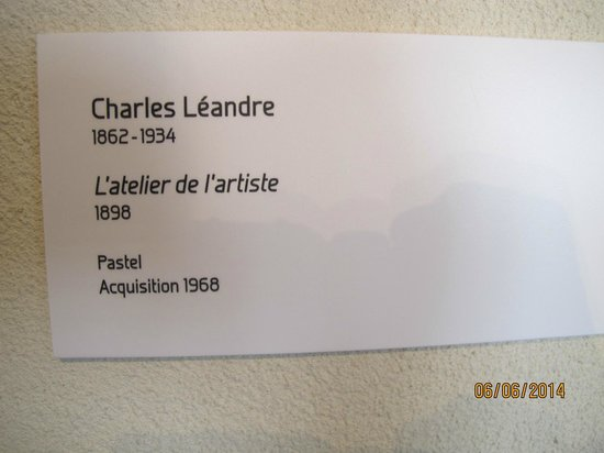 Musee de Vire: Charles Leandre, a Vire artist