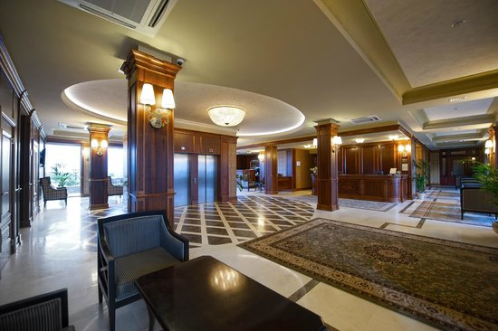 Panska Gora Hotel : Хол