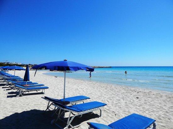 Landa Beach: landa crystal clear waters and sand