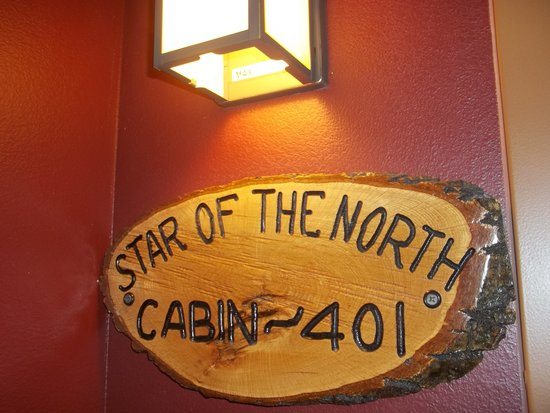 Arrowwood Lodge At Brainerd Lakes: each room has their own special name