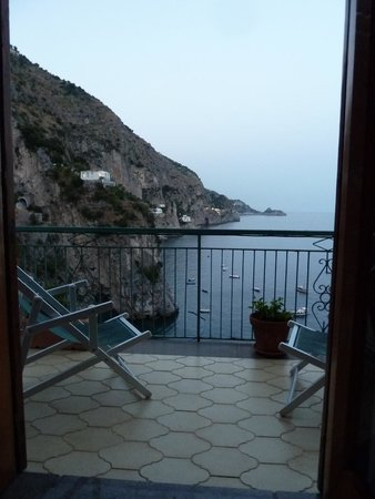 Hotel Onda Verde: View from our room in the evening