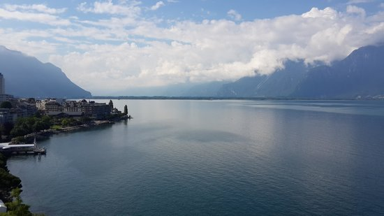 Eurotel Riviera Montreux: Lac Leman from your window