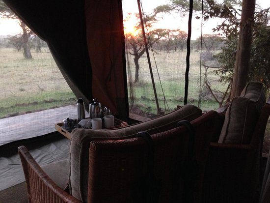Naboisho Camp, Asilia Africa : A Tent with a View