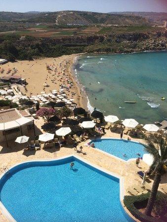 Radisson Blu Resort & Spa, Malta Golden Sands: Daytime at the beach