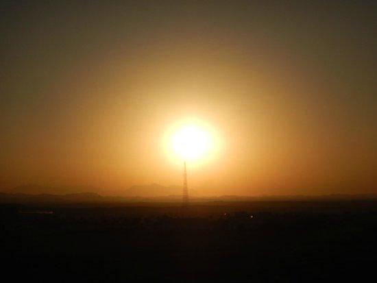 Steigenberger Coraya Beach : Zonsondergang