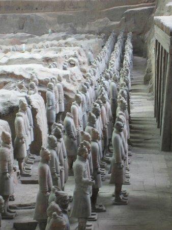 Mausolée de l'empereur Qin : Terra Cotta Warriors