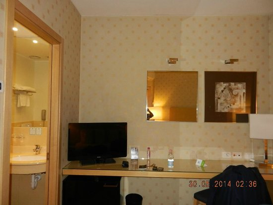 Holiday Inn Milan - Garibaldi Station: Room facilities