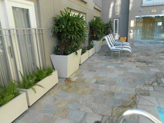 Hotel Amarano Burbank : pool area