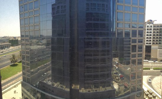 Raintree Hotel, Deira City Centre: The best view they can give you