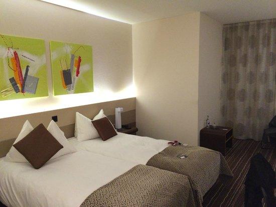 Hotel Riverside : ma chambre, la 17