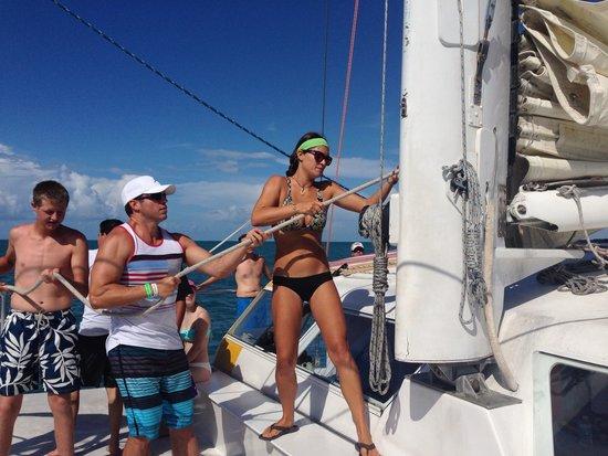 Sebago Key West : Sailing