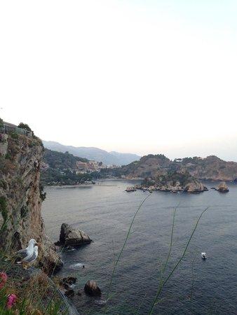 Atahotel Capotaormina: Vista dal balcone della nostra camera