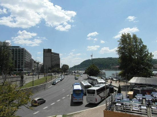 InterContinental Budapest: The Hotel from the Chain Bridge