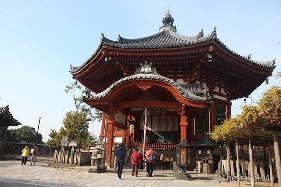 Kofukuji Temple: 奈良公園興福寺