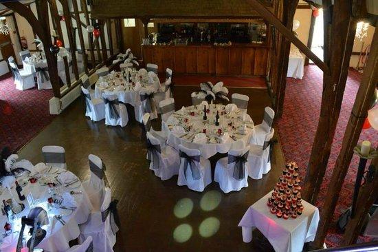 Best Western Brome Grange Hotel : Tithe Barn