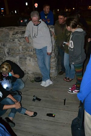 Buffalo History Tours: Paranormal investigators use sensors and other tools on our ghost hunt.