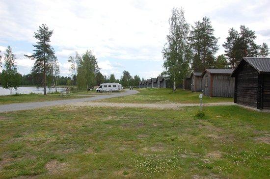 Saiva Camping & Stugby: Campingområdet