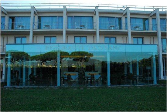 Allegroitalia Pisa Tower Plaza : Vista da esterno bar/ristorante