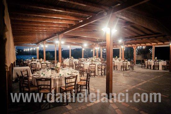 Il Casale di Martignano: Sala esterna allestita