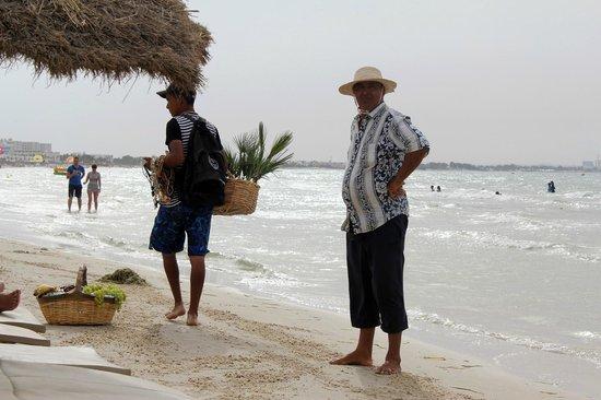 Le Soleil Bella Vista Hotel: Кого только на пляже не встретишь