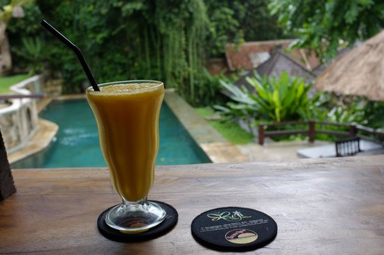 Beji Ubud Resort : Кафе