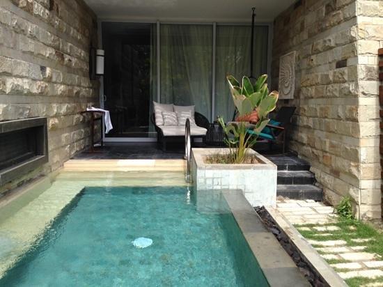 Sofitel Bali Nusa Dua Beach Resort: plunge pool