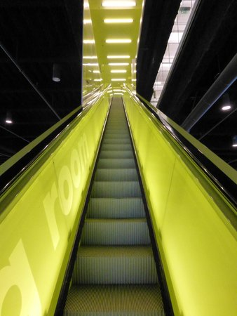 Seattle Public Library: Escalators