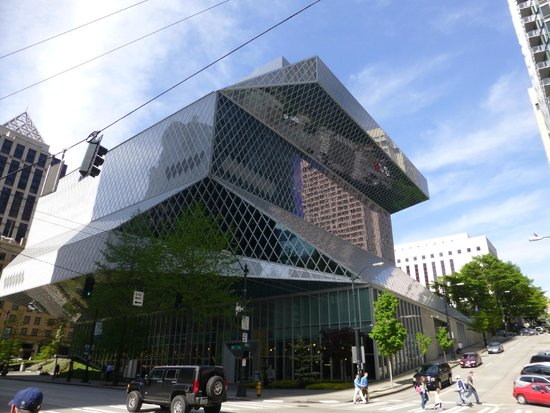 Seattle Public Library : Does this look like a pile of books?