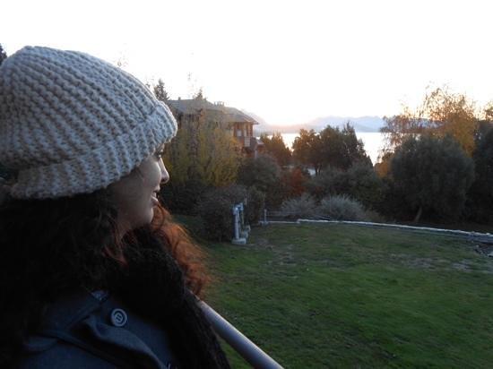 Rochester Hotel Bariloche: vista da varanda