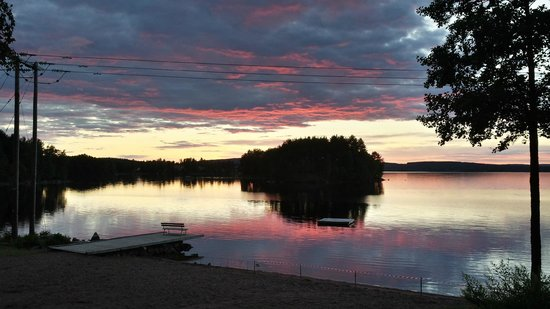 Falun, İsveç: kvällsbild
