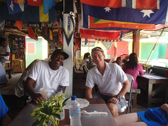 Nevis Yacht Private Charters: Miles and Elvin