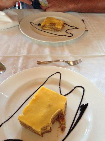 Restaurante Xoina: Tarta de galleta
