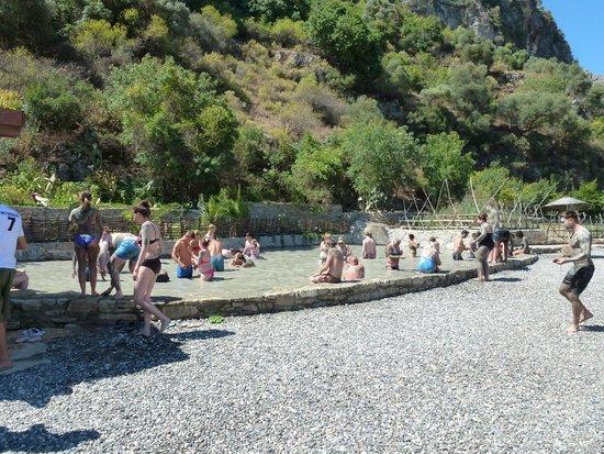 Dalyan Mud Bath: The mudbath