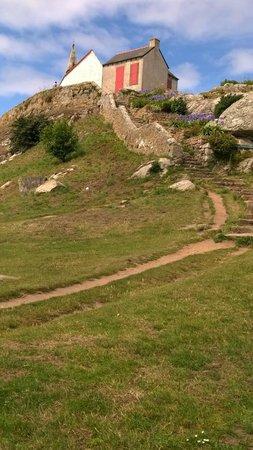 Ile de Bréhat : vue de la chapelle