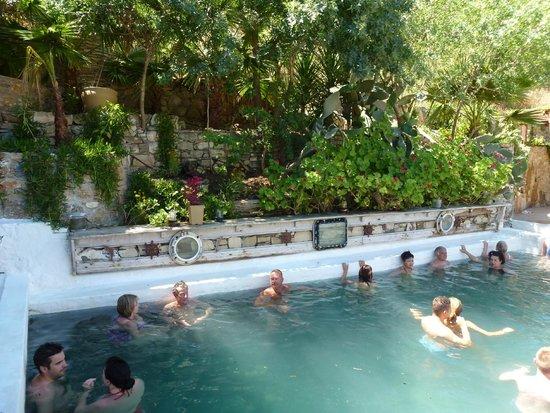 Dalyan Mud Bath: Sulphur pool