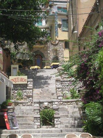 Corso Umberto : Calle de Taormina