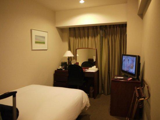 ANA Crowne Plaza Hiroshima: Semi-double room