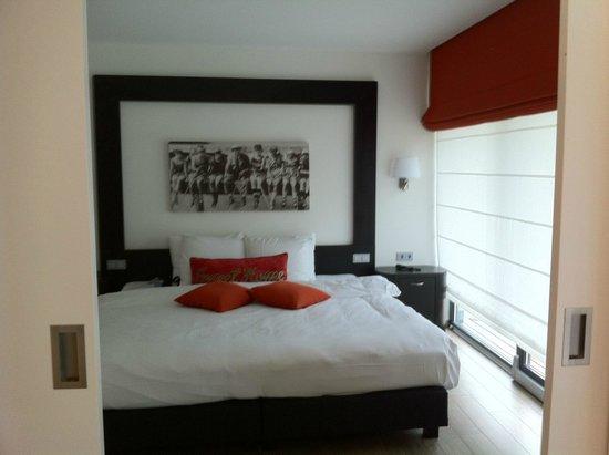 Cocoon Hotel Belair: vue depuis le séjour