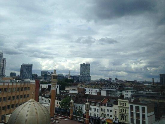 Hotel ibis budget London Whitechapel - Brick Lane : vista desde la habitación