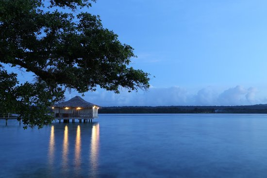 Ratua Private Island: The spa - and the view from our room