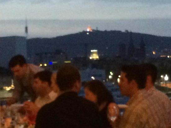 Restaurante Barceloneta: View of Barcelona from the upper deck